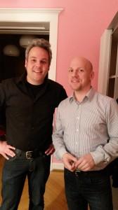 #SoMeD Forenleiter Andreas Unterberger und Initiator Sebastian Neumann