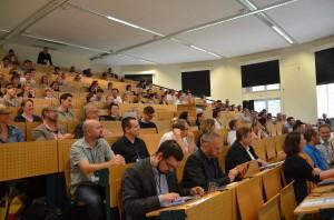 Blick in die Hörsaalrunde - 7. Social Media Anwenderkonferenz