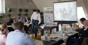 "Branko Čanak, Leiter des Coworking Spaces ""weXelwirken"" in Paderborn"
