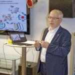 Peter Lamerz hielt den Vortrag zu Wikipedia bei Hering Schuppner