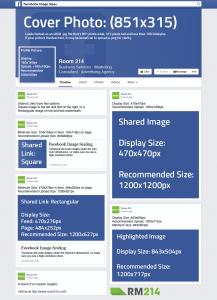Facebook Bilderformate für Unternehmensseite