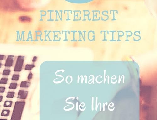 5 Tipps: So machen Sie Ihre Webseite fit für Pinterest – Marketing mit Pinterest