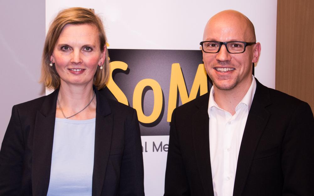 Medienrechtlerin Maike Bartlmae Gründer vom Social Media Fachverband Sebastian Neumann