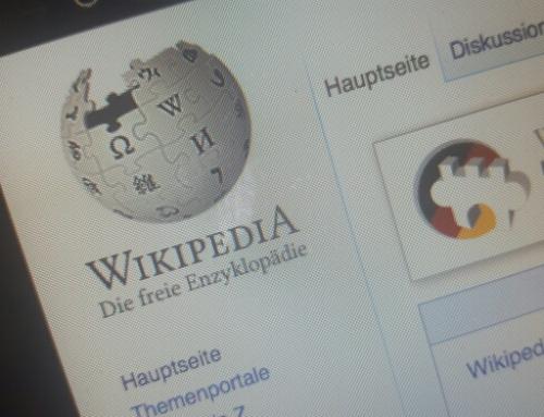 Wikipedia: Für Unternehmen oft ein Buch mit sieben Siegeln