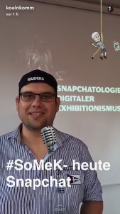 Mike Schnoor - Snapchatologe beim #SoMeK