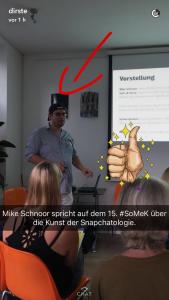 Einführung in Snapchat